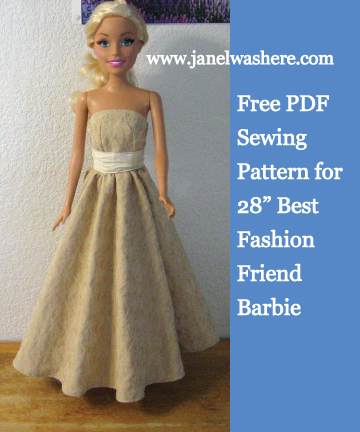 Janelwashere Barbie Best Fashion Friend 28