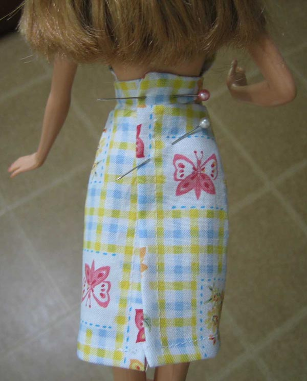 Vistoso Patrones De Costura Libre Barbie Festooning - Ideas de ...