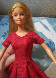 image relating to Barbie Dress Patterns Free Printable Pdf named JanelWasHere Doll Routines