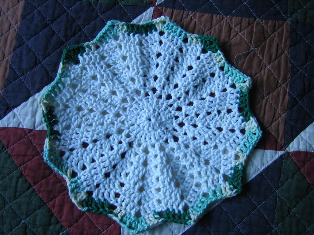 JanelWasHere Round Ripple Crochet Afghan Pattern