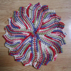 Here's my easy no-fail version for any other baby knitters out there