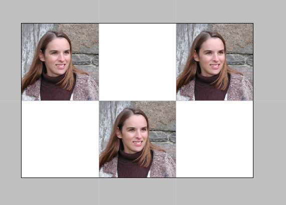 pass photo size photoshop